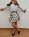 carlota falda calaveras